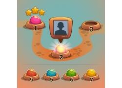 游戏关卡按钮图标图片