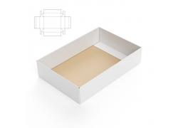 纸盒效果图与钢刀线