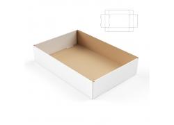 包装平面图与效果图