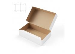 纸盒与展开平面图