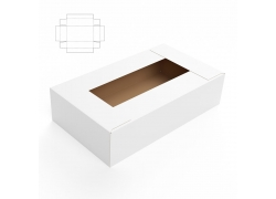 纸盒钢刀线与效果图