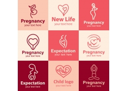 母婴logo设计