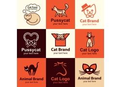 宠物猫咪logo设计