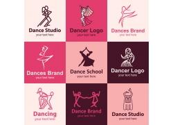 舞蹈logo设计