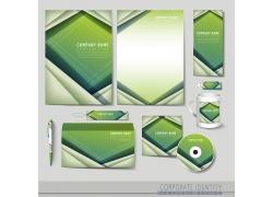 绿色梦幻VI背景