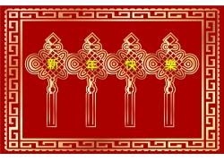 中国结背景边框