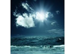 海面天空风景