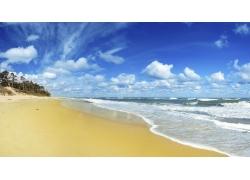 美丽的沙滩大海风景