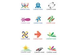 创意花朵logo设计