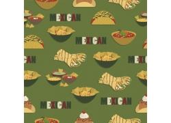 墨西哥美食背景