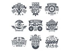 越野车T恤印花设计