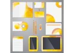 黄色图形企业VI