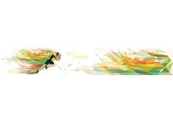 跑步运动员插画
