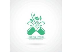 绿色维生素图标设计图片