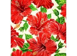 鲜花无缝拼接背景