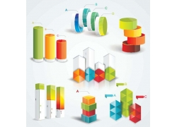 3D信息图表