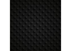 黑色圆圈立体背景
