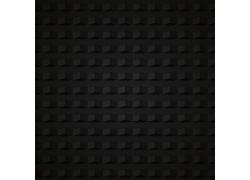 黑色折纸立体背景