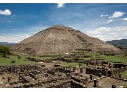 墨西哥金字塔景色
