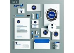 蓝色太阳企业VI
