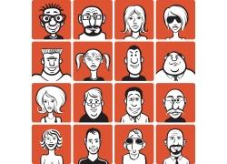 卡通人物漫画头像图片