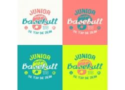 棒球帽体育印花图案
