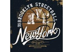 篮球T恤印花设计