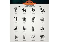 创意金融货币图标