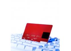 键盘和银行卡