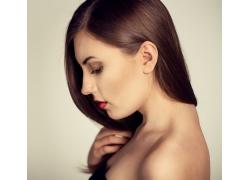 性感美发模特女人