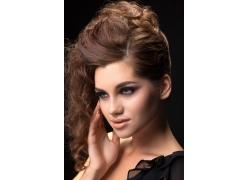 美发造型模特美女写真