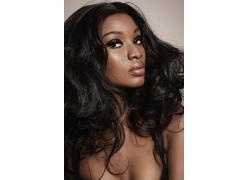 黑人女性模特