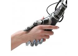 握手的机器人