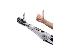 竖大拇指的机器人
