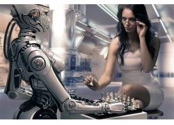 下棋的机器人
