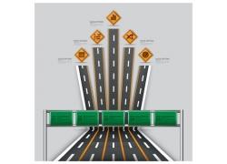 高速路信息图表