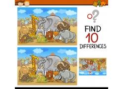 卡通动物插画游戏图片