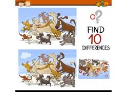 卡通小狗儿童游戏图片