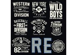 英文T恤印花设计