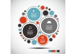 彩色圆圈的图表