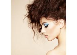 彩妆美发造型美女