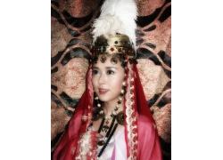 少数民族古装美女