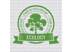 绿色环保标签设计