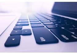 笔记本电脑键盘摄影