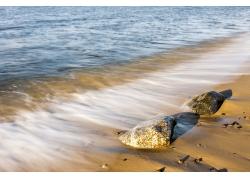 美丽沙滩风景摄影