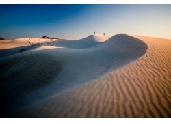 美丽沙丘风景