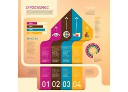 创意数字信息图表