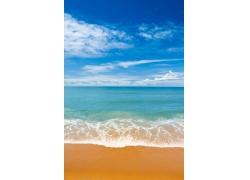 美丽海滩天空风景