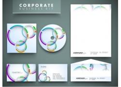 彩色圆环VI设计
