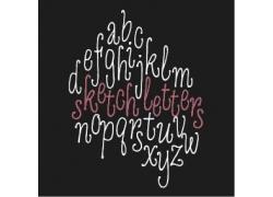 个性时尚英文字母